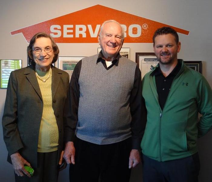 Founders of SERVPRO visited our office!