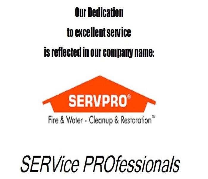 We are SERVPRO