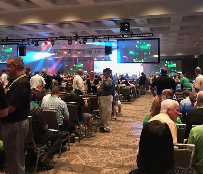 SERVPRO national Convention - We believe in training