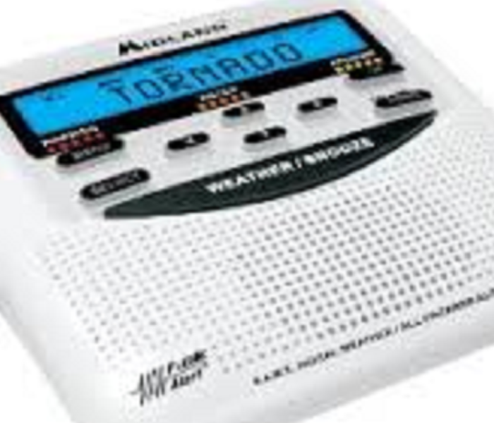 Storm Damage Weather Radio - Everyone Should Have