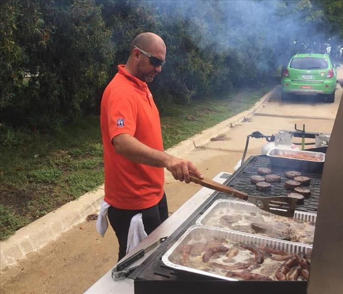 Why SERVPRO We Know How To Turn Up The Heat - Water and Fire Referral Cook Outs